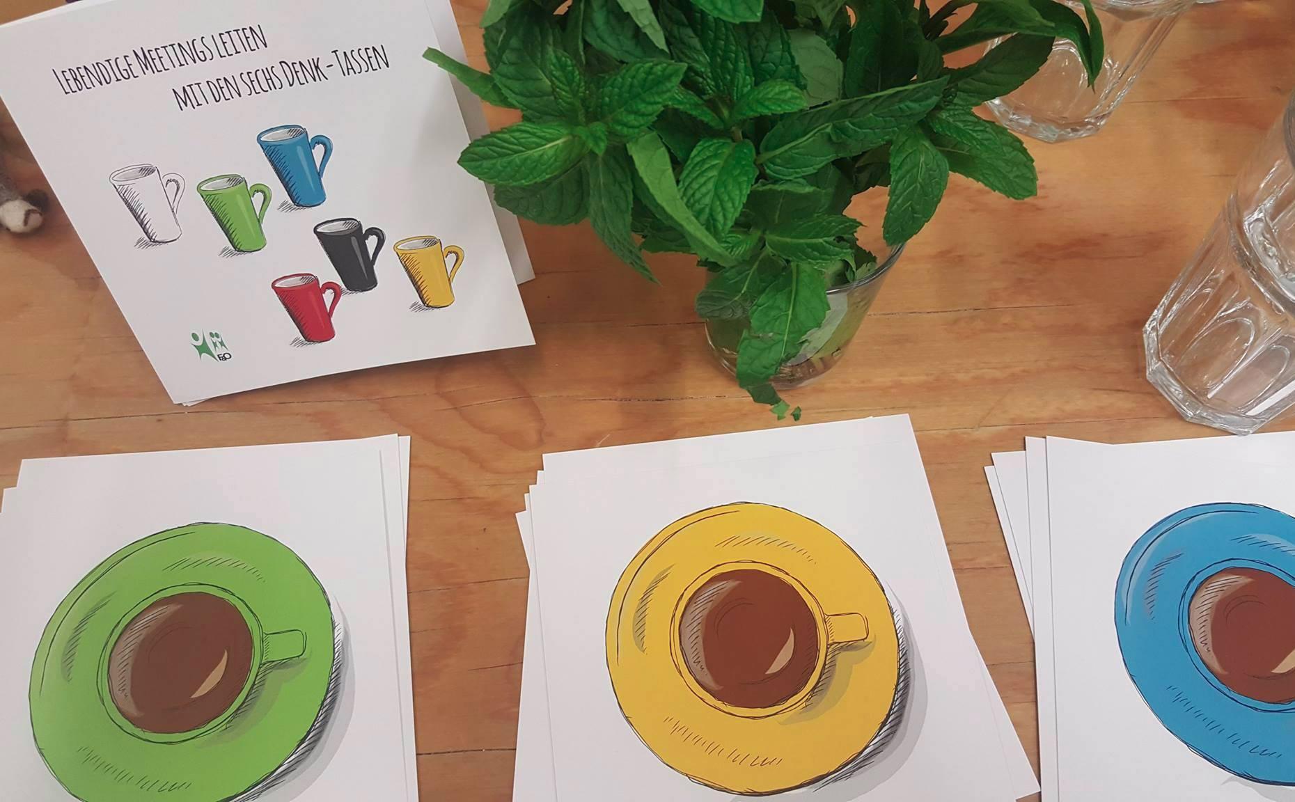 Sechs Denk-Tassen – Premiere beim F&O Future Flow