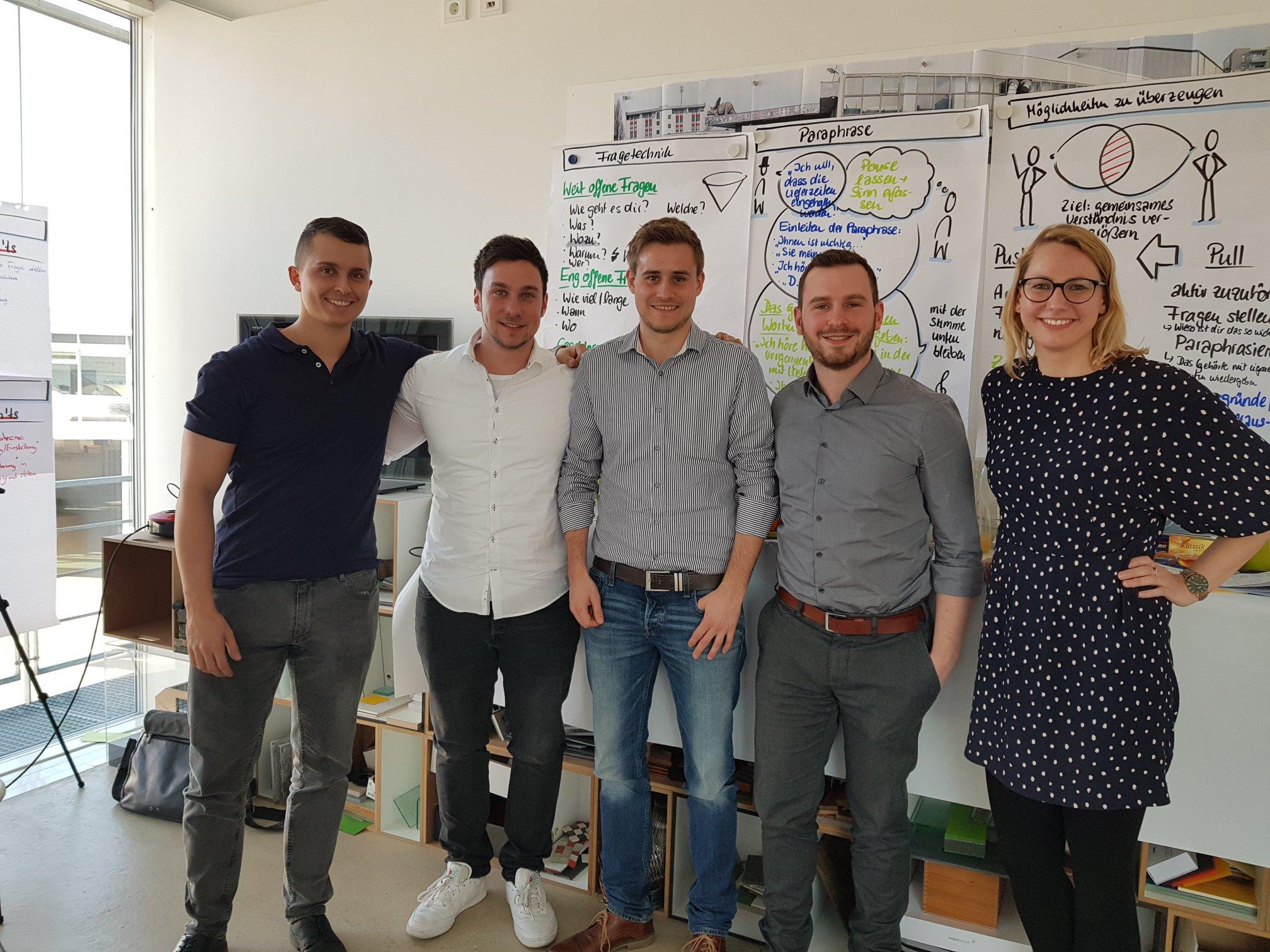 Trainee Skills Seminar für ein Aluminium-Unternehmen